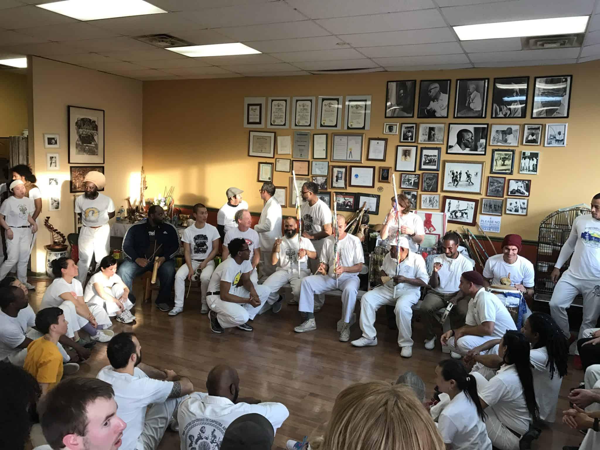 Capoeira angola roda