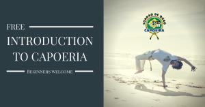 free introduction to capoeira, free capoeira class, free intro to capoeira
