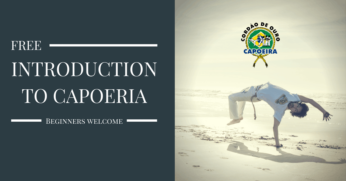 free introduction to capoeira, free capoeira class, free intro to capoeira