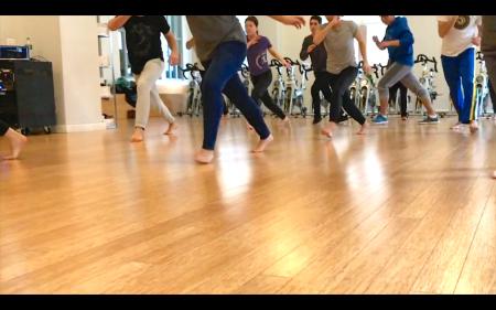 Capoeira class, Capoeira space, dende arts capoeira