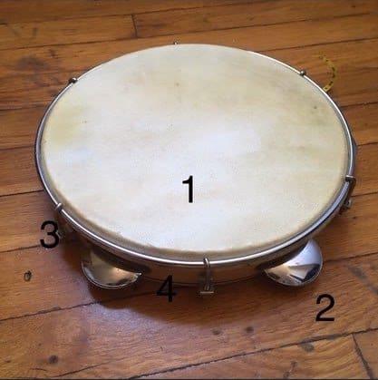 pandeiro for capoeira