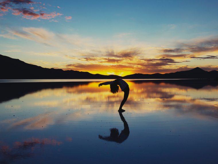 how to do a ponte, bridge, capoeira, back bend, yoga