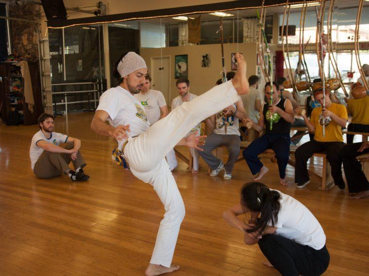 Capoeira kick